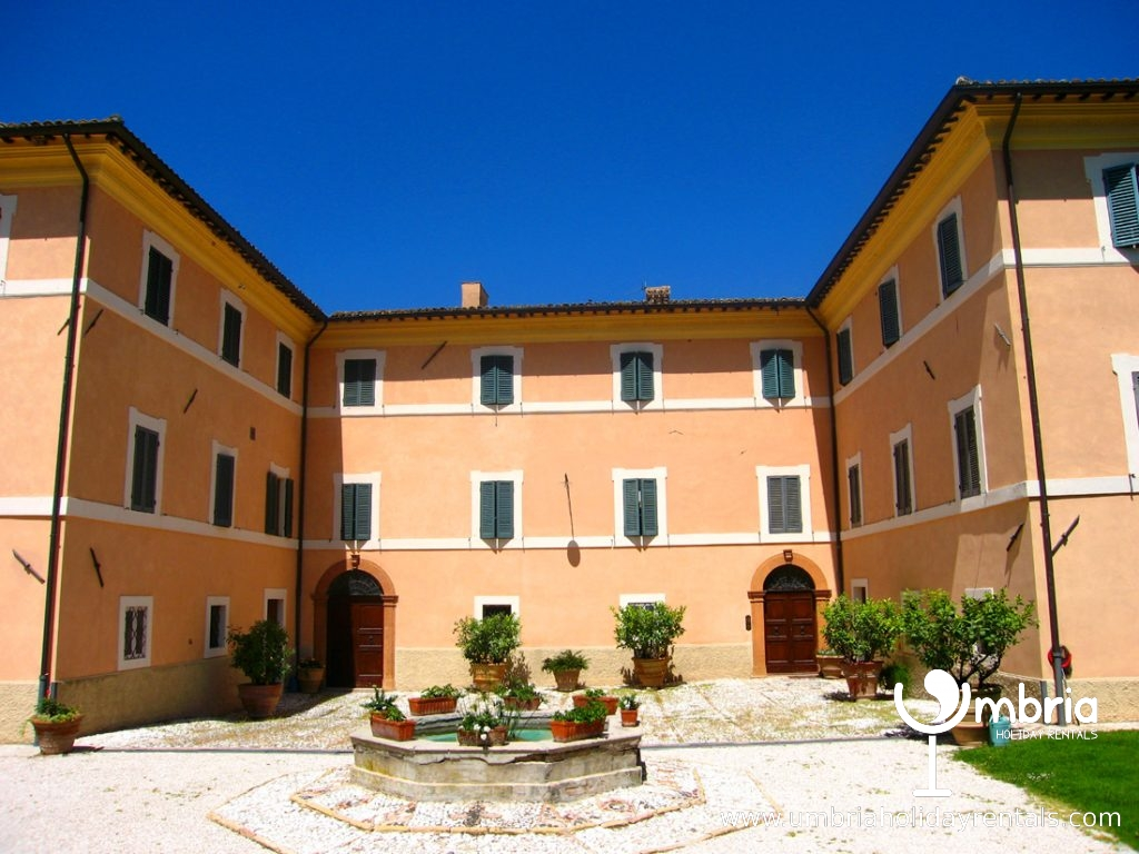 The ex monastery, within the walls/Monastery Suites + Lodge outside walls, out of shot