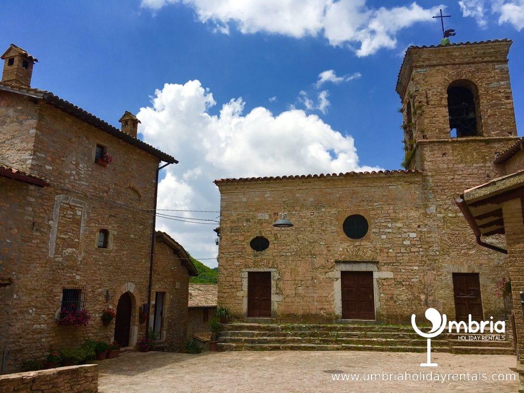 church inside 9C Macerino Castle