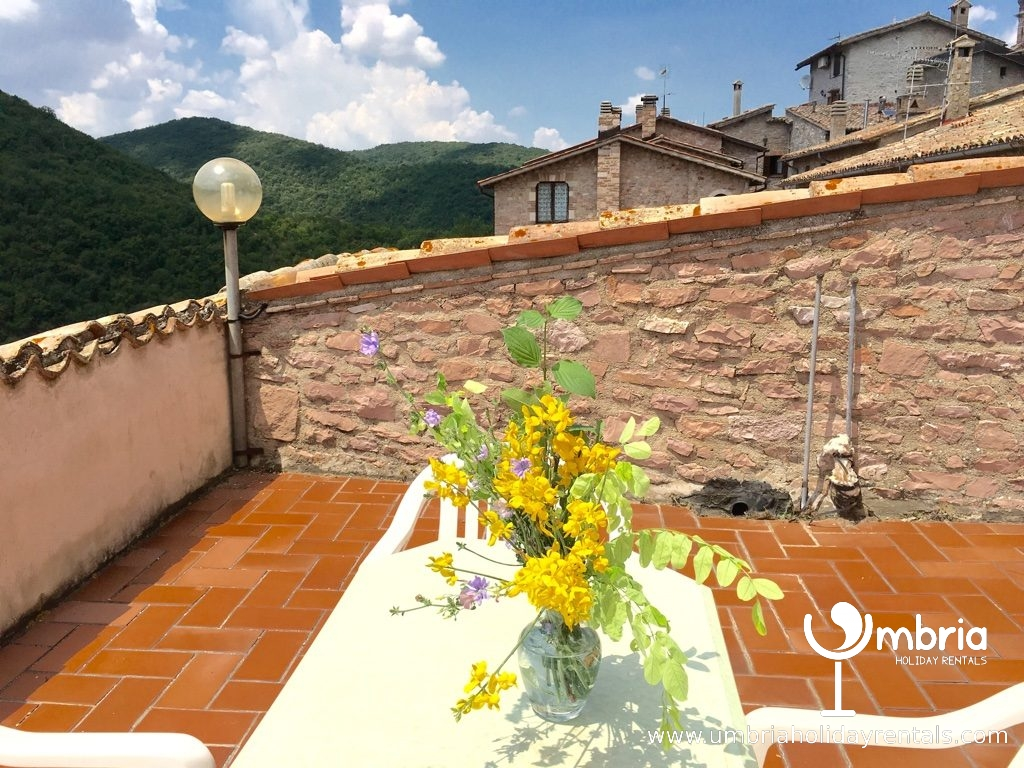 large private terrace - sun loungers available, as many as you like