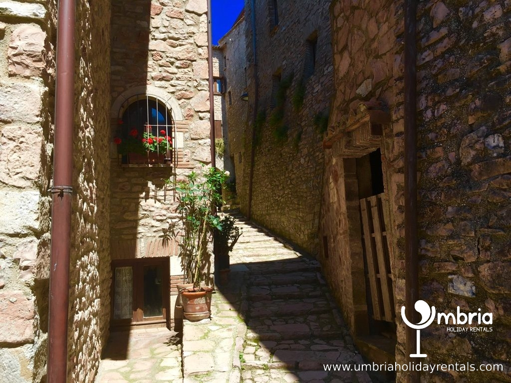 inside 9C castle walls